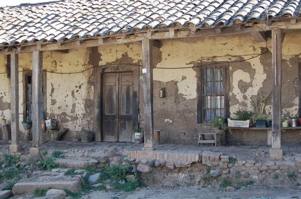 casas de adobes década del 50/60