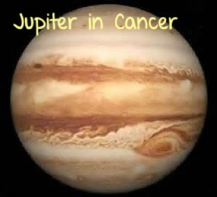 Jupiter In Cancer from 19th June, 2014