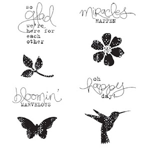 Stampin Up! stamp set: Bloomin Marvelous