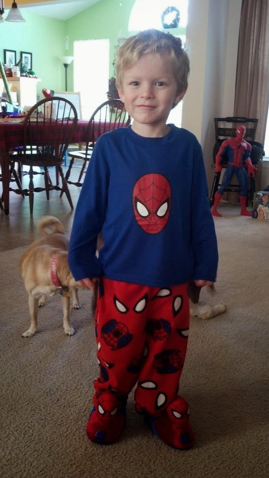 Henry is Spider-Man!