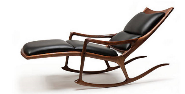 Rocking Lounge Chair Sam Maloof.com
