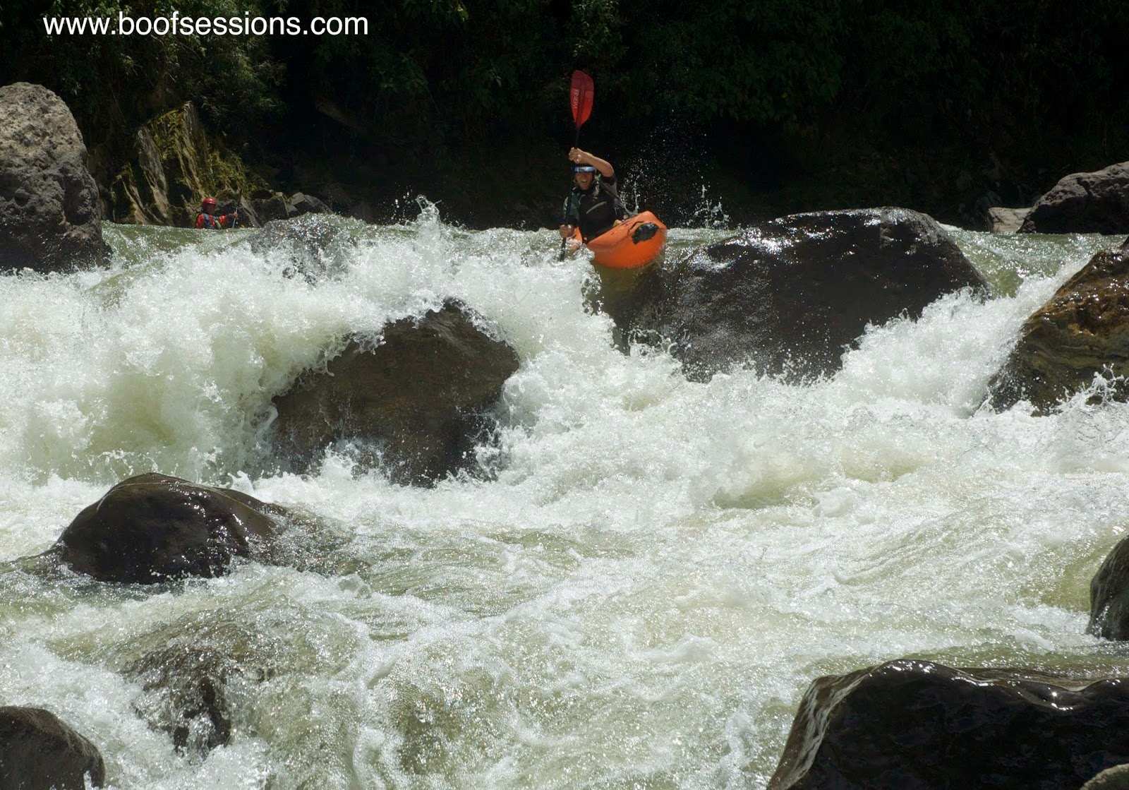 THE BEST OF WHITEWATER KAYAKING IN ECUADOR KAYAK HOSTEL 7 DAY EXPEDITIONS GUIDE RIVERS