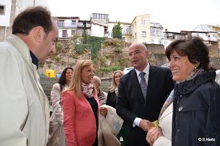 Rosario Molina, Mujer de Garzón a su llegada al centro de cultura