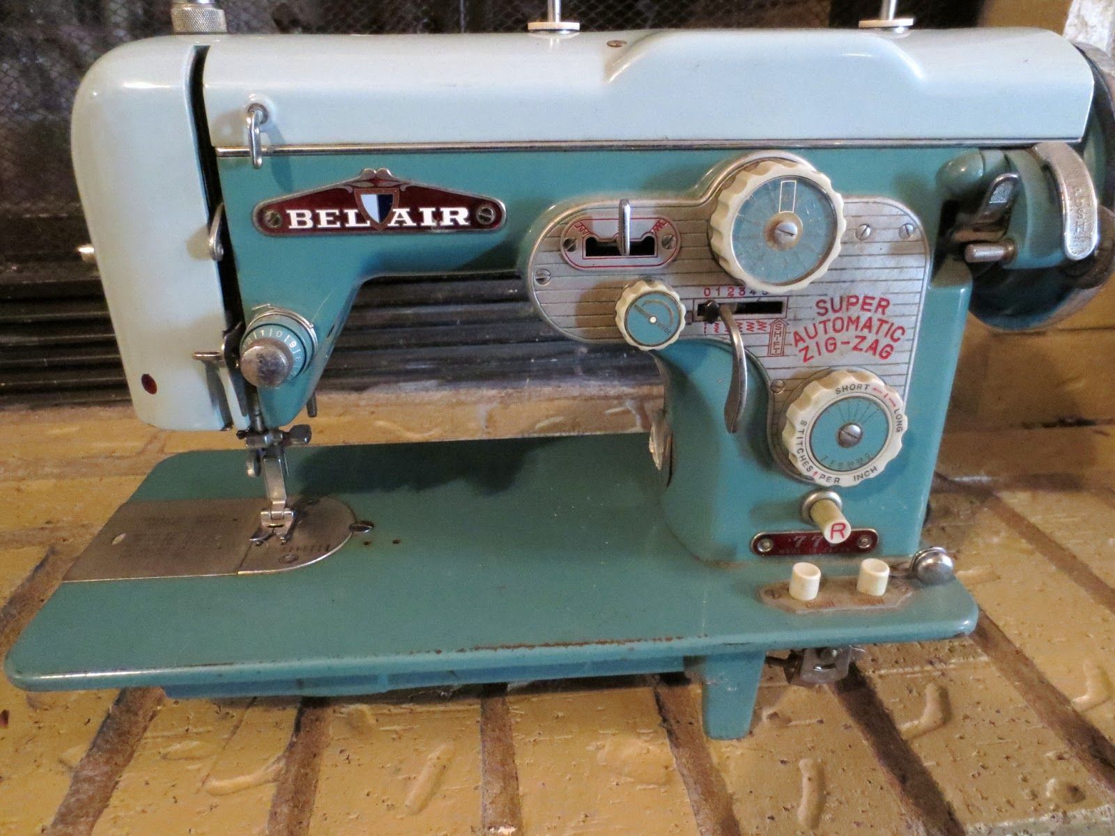 bel air sewing machine