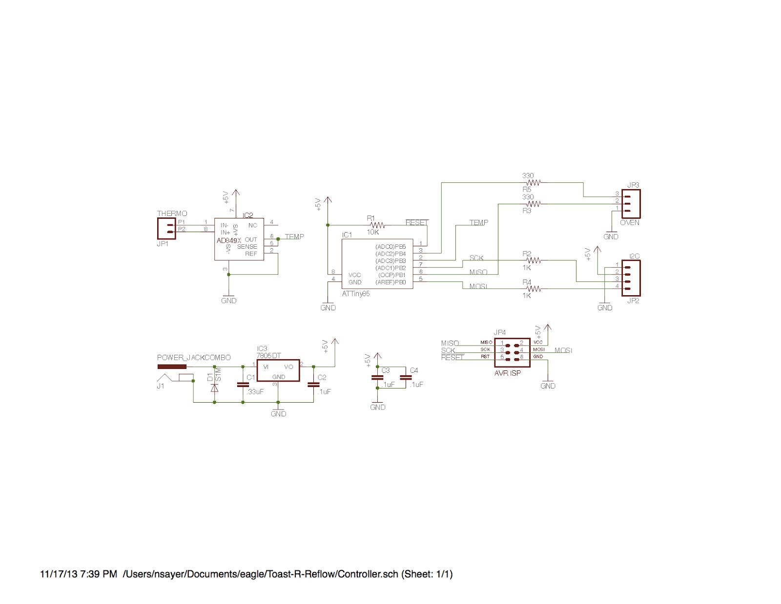 Nick\'s Blog: Toast-R-Reflow schematics