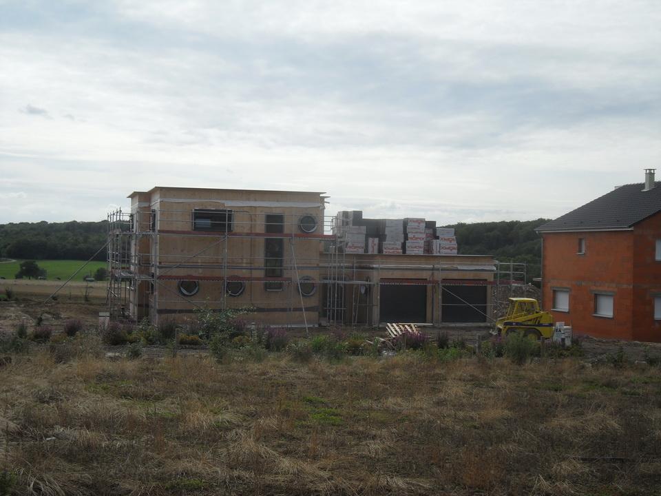 Notre maison passive au pays des 3 fronti res lorraine arriv e de l 39 c - Maison bioclimatique definition ...