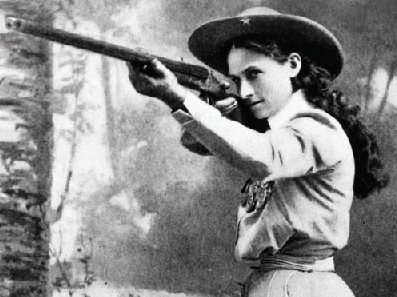 Annie Oakley, naturally