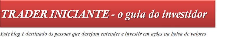 Trader Iniciante: o guia do investidor