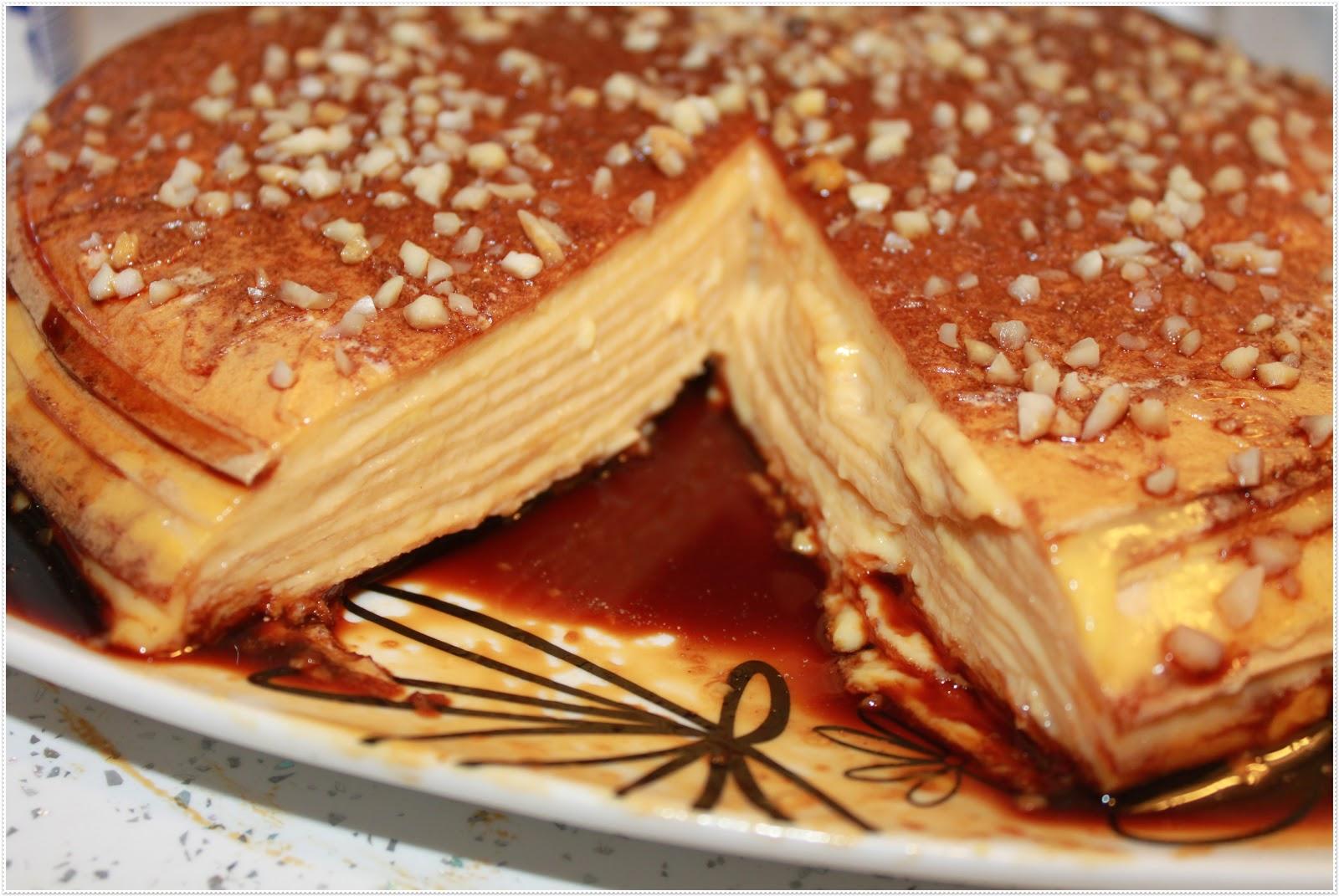 Paz y gloria en la cocina tarta de obleas - Nata para cocinar mercadona ...