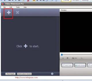 membuat video watermark pro di android