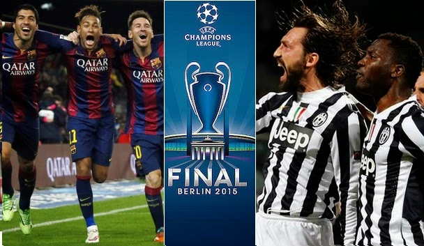 Where To Watch Champions League Final 2015 | Barcelona Vs Juventus Live Streaming TV Channels