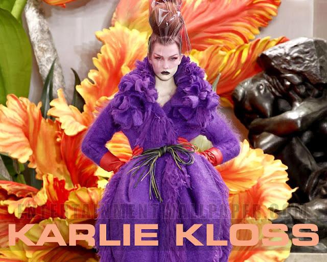Karlie Kloss sexy in bikini