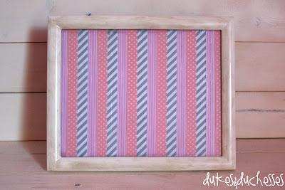washi tape chalk board DecoArt clear chalkboard coating