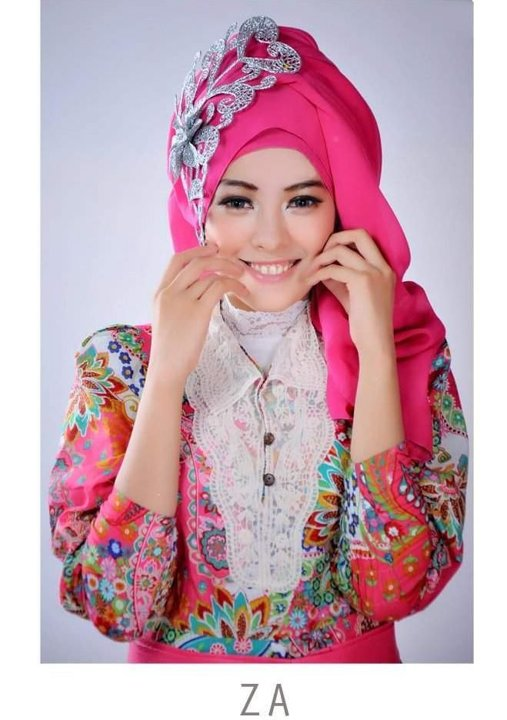 Kumpulan Model Gaya Hijab Trendy Terbaru 2014