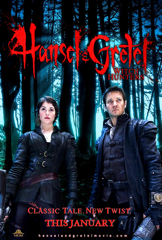 Movie Posters : Hansel and Gretel: Witch Hunters (2013)