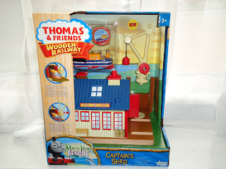Captain's Shed Destination Wooden Toy