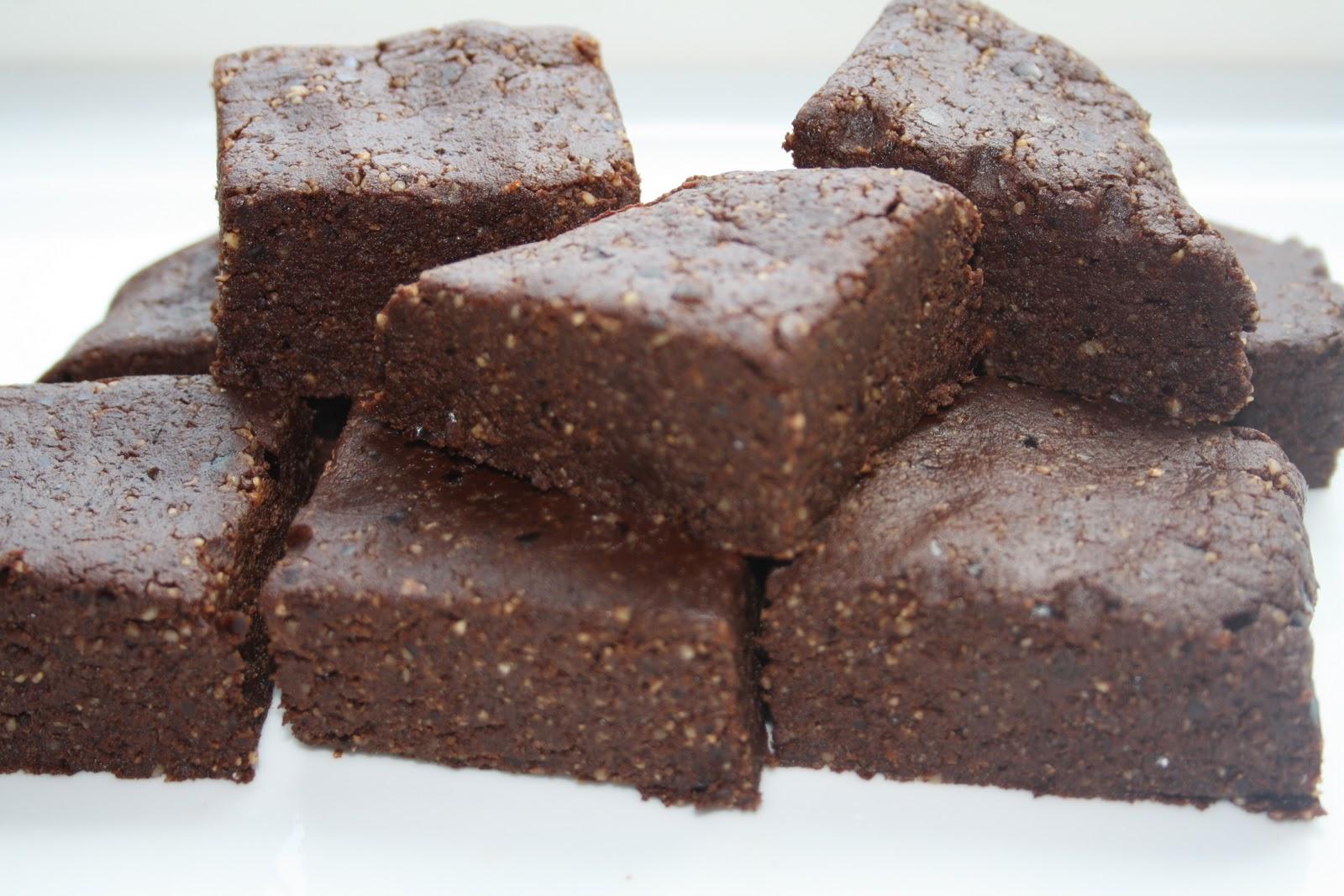 Veganeren: Raw brownies