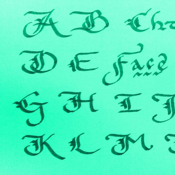Calligraphy for beginners why