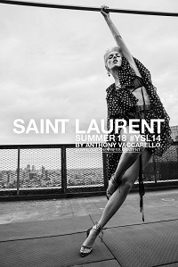 SAINT LAURENT SS2018 AD CAMPAIGN