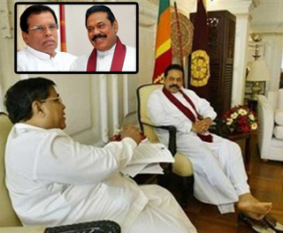 Nimal has invited Mahinda to contest from Alliance on behalf of Maithri No decision from Mahinda still!