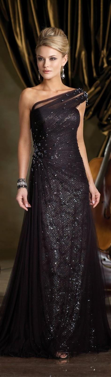 Beaded Long Maxi Dress