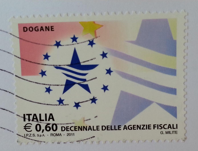 francobollo Dogane