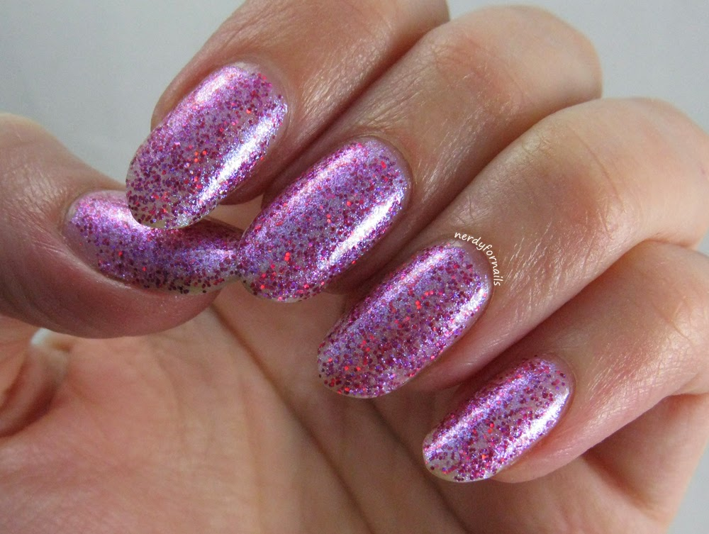 Orly Explosion of Fun Swatches Holiday Sparkle Collection 2014