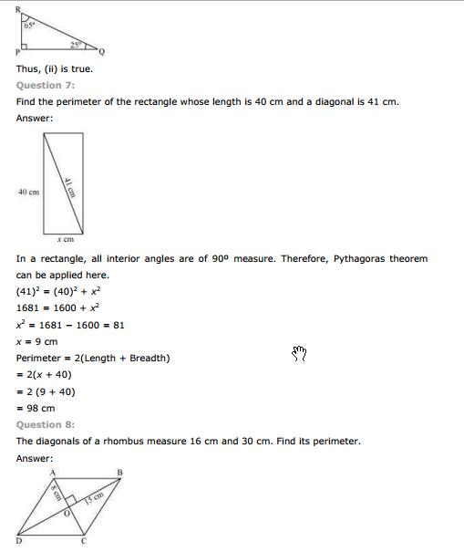ncert solution for class 7 maths chapter 6