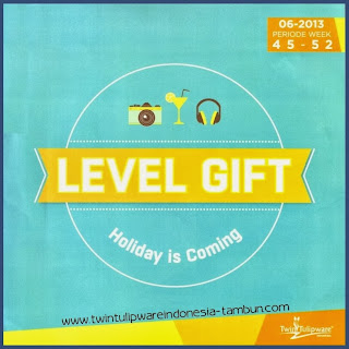 Level Gift Tulipware Cover | November - Desember 2013