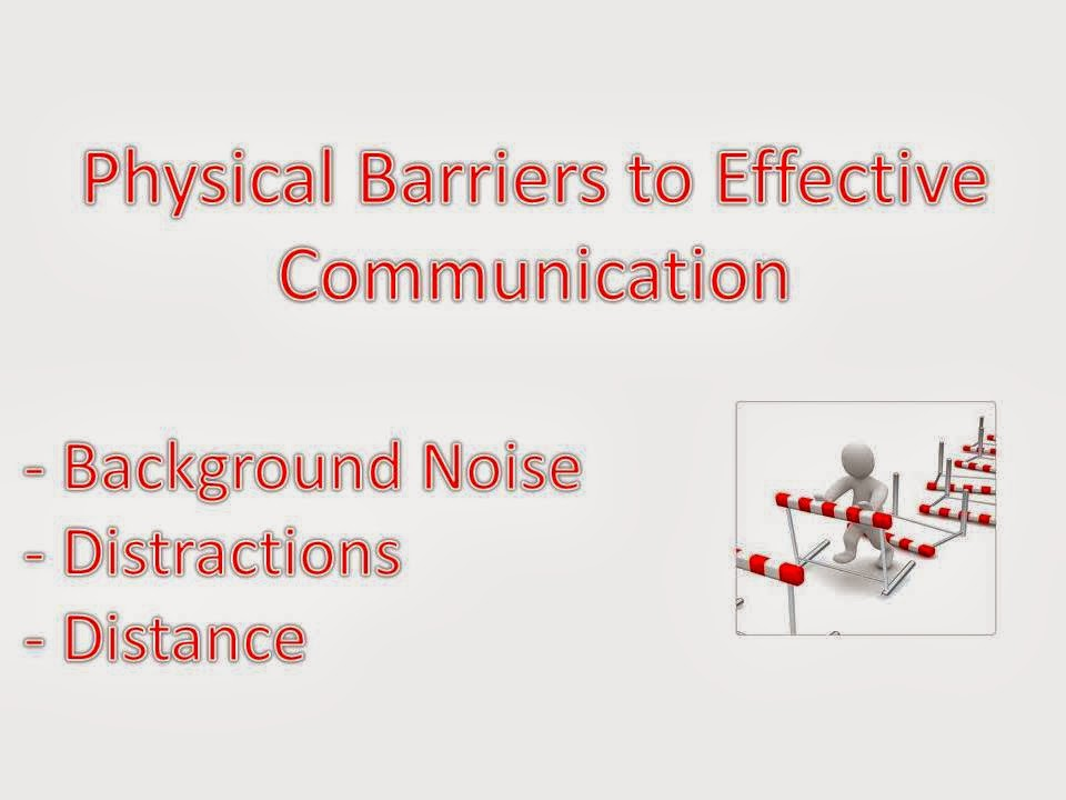 task 3 barriers to communication Police organization and administration barriers to communication •barriers often are the result of a •relating to the performance of a certain task.