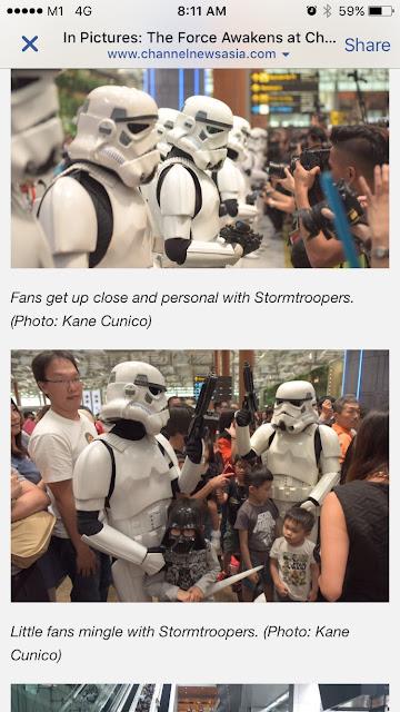 mumzilla sg mom blogger in the news Star Wars Changi Ashton Adam Tan