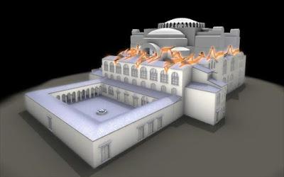 History of Hagia Sophia at Hellenic Cosmos VR 'Tholos' Theatre