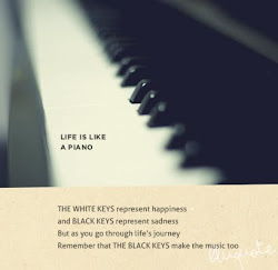 Life is like piano
