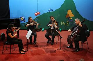 Recital de Gala com o Quarteto Continental.