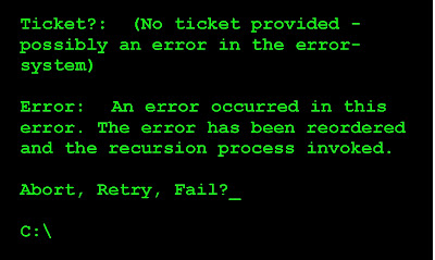 abort retry fail?