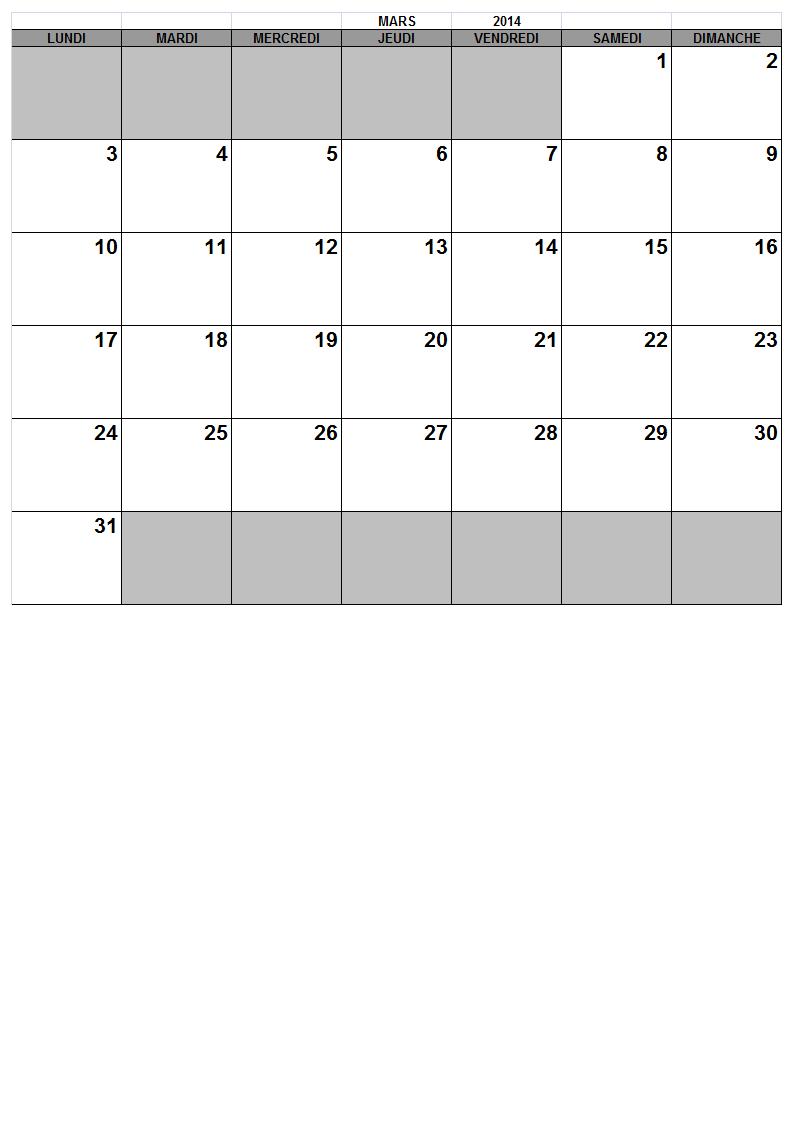 Janvier Calendar Template : New Calendar Template Site