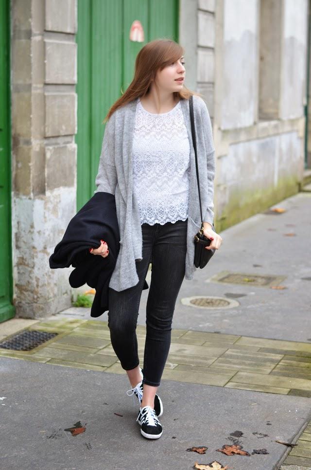 look femme adidas gazelle gilet long