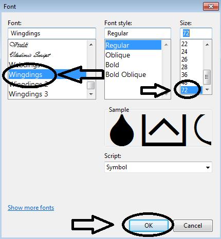 Jendela Font