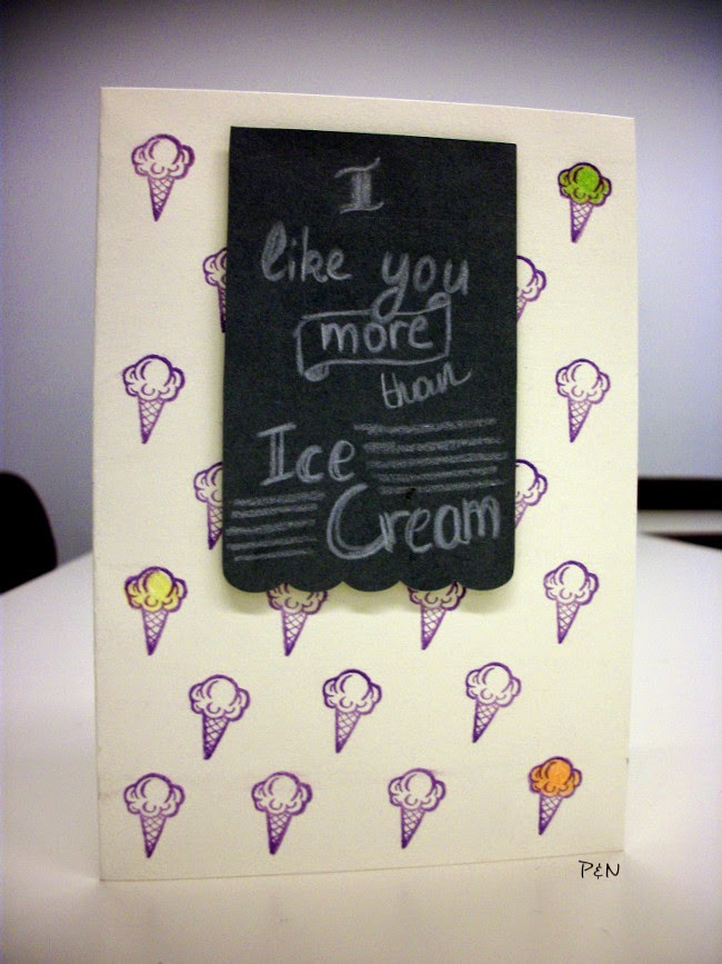 Pumps and Needles: Simon Says... STAMPtember Ice Cream Card
