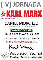 Daniel Morcillo: Marxismo y ciudad