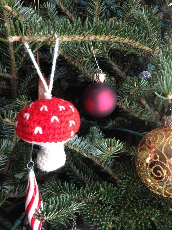 Crochet Amigurumi Mushroom