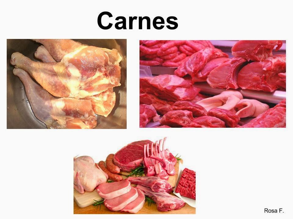 de Infantil y Primaria.: Alimentos de origen animal y vegetal