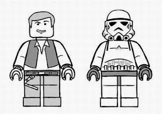 Star Wars Lego Coloring Page   Castrophotos