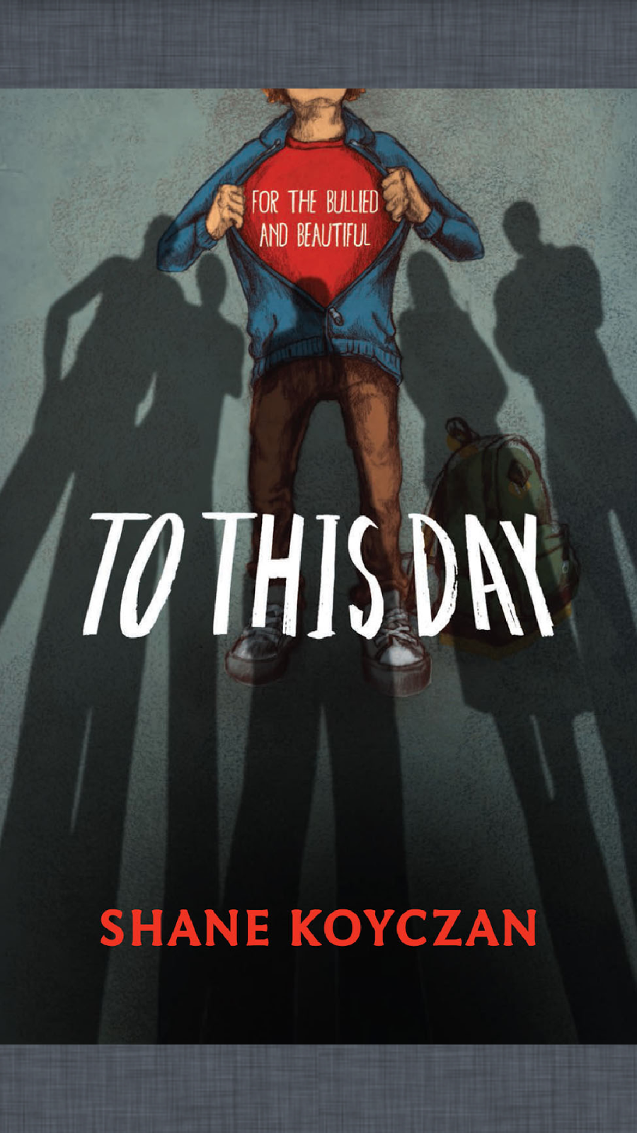 Little Bird Reads: To This Day -- an anti bullying manifesto