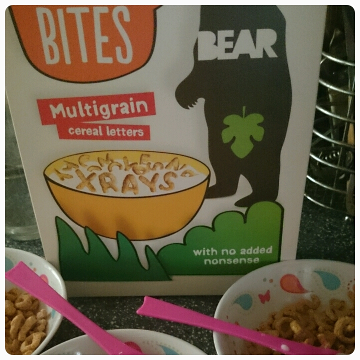 BEAR alphabites cereal