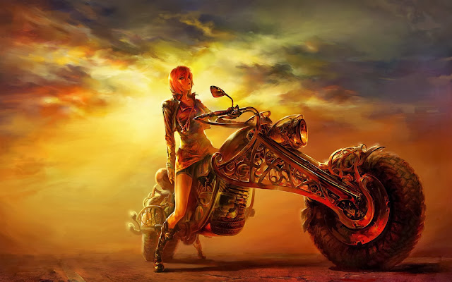 Sexy Girls, Animated Bikes, Wallpapers HD, tapandaola111, hot girl with bike, desktop, hot wallpapers