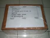 Paket Souvenir yang telah terkirim