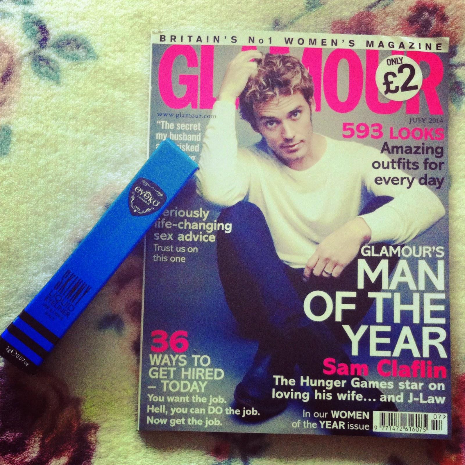 Glamour Magazine July Eyeko Eyeliner