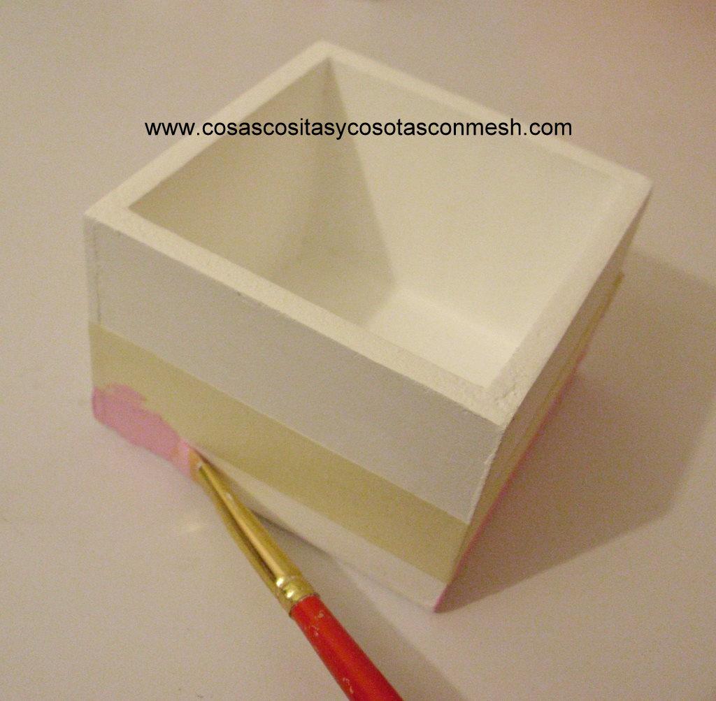 Ideas de manualidades cajas de madera navide as - Cajas madera para manualidades ...