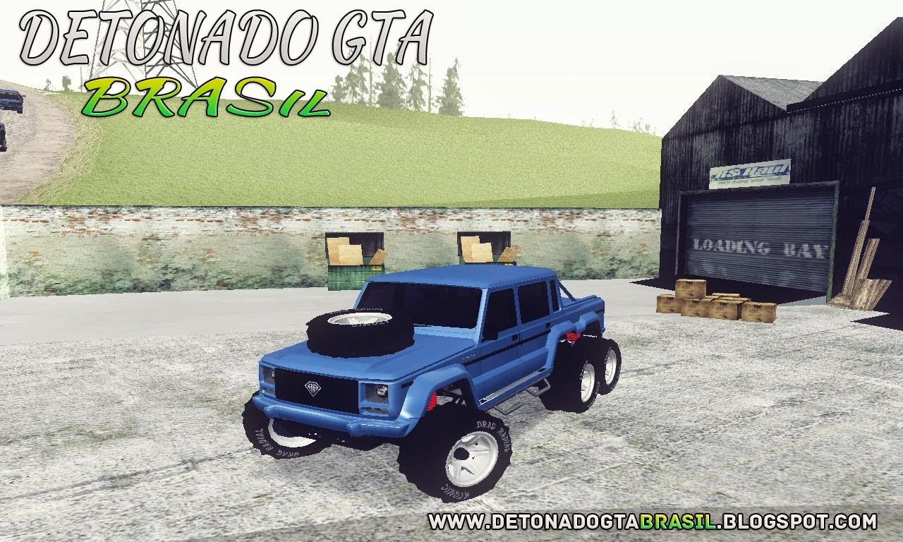GTA SA - Dubsta 6x6 DLC GTA V Para SA